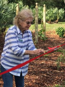 Nancy Fehr and the Butterfly Garden