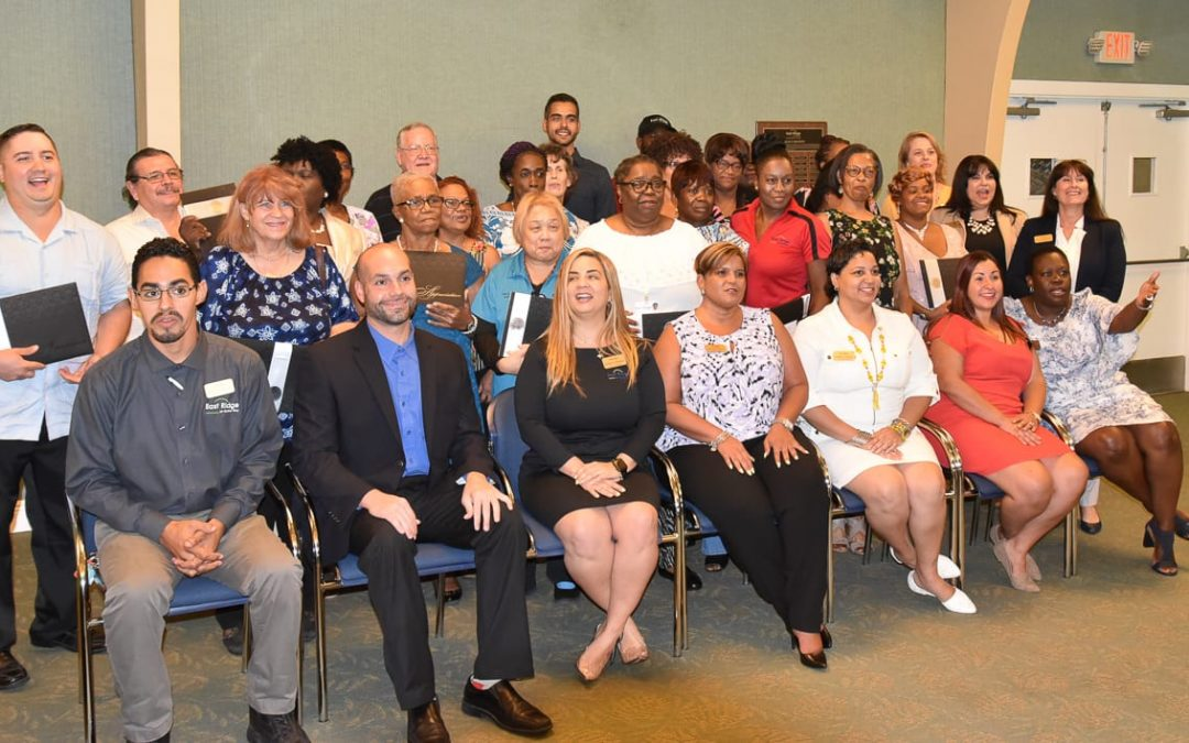 East Ridge Honors Employees with Milestone Awards