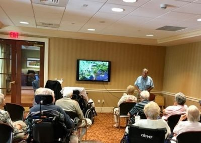 Soaring to new heights: Residents at The Terraces learn about majestic bald eagles