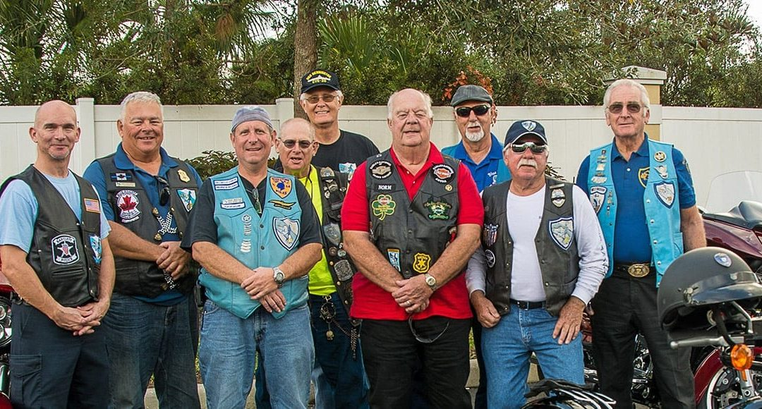 Blue Knights Motorcycle Club roars into The Terraces