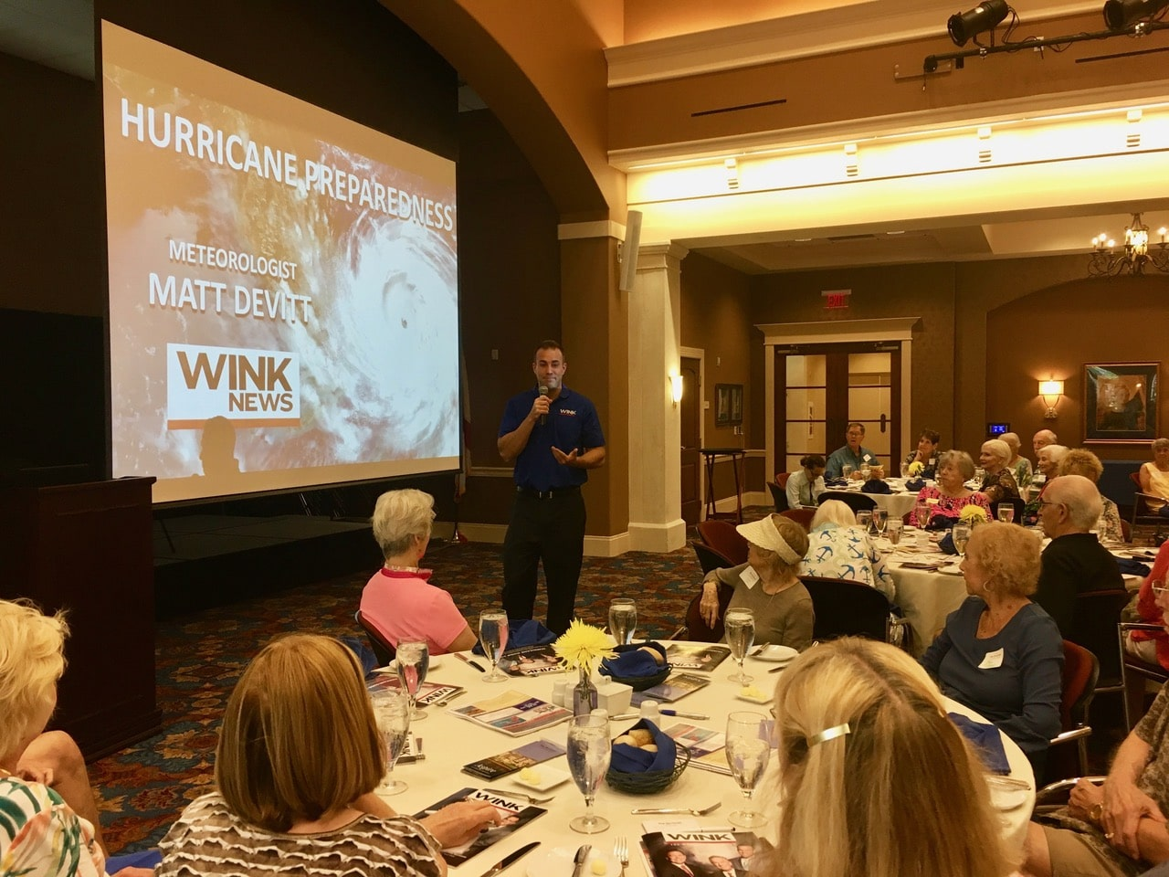 WINK-TV Meteorologist Matt Devitt shares hurricane  scenarios and forecast for 2019