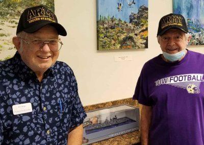 East Ridge Honors Veteran-Residents for Veterans Day